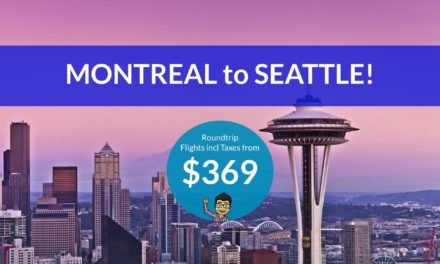 [EXPIRED DEAL] – $369 CAD Roundtrip – MONTREAL to SEATTLE, WASHINGTON