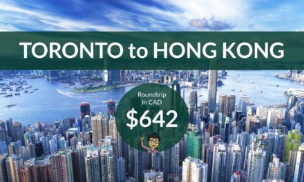 $642 CAD Roundtrip – TORONTO to HONG KONG on United Airlines